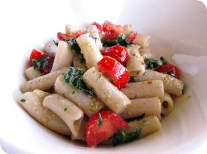 Kaleprese Pasta Salad